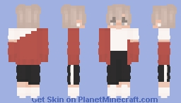 can't get over you Minecraft Skin