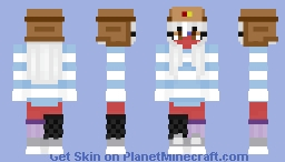 daydreaming about america.. {}Fem!Russia Countryhumans{} Minecraft Skin