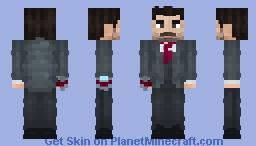 Tony Stark   Captain America: Civil War Minecraft Skin