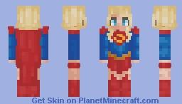 Supergirl Rebirth - Skin Request Minecraft Skin