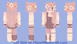 sweater + flowers // skintober 6 + 7 Minecraft Skin