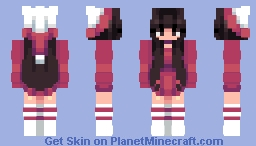 ~✿~ Red turned to purple ;_;    Aint even red i cri Minecraft Skin