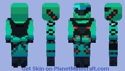 Kondor Wrath style from new Fortnite season 5! (Read desc) Minecraft Skin