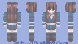 🎀▸本田透 . . . 𝐩𝐥𝐞𝐚𝐬𝐮𝐫𝐞   tohru honda [ fruits basket ] Minecraft Skin