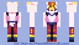 Cinderace Minecraft Skin