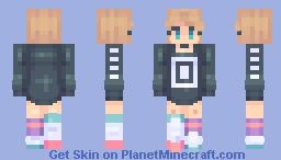 {Fanskin} KAOSSSS 〈𝓟𝖎𝖈𝓴𝖑𝖊𝕮𝖆𝖙〉 (Popular Reel!) Minecraft Skin