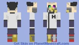 Dr. Benedict Minecraft Skin