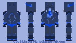 Frosht | The Frozen Flash (Ice Suit) - Custom Minecraft Skin
