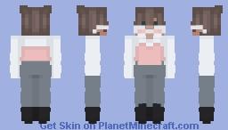 stop being jealous Minecraft Skin