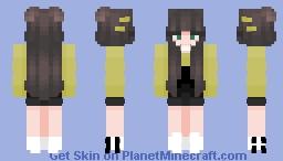 Space's Main Skin! [Yellow w/ black overalls] Minecraft Skin