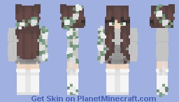 egg drained hannahxxrose Minecraft Skin