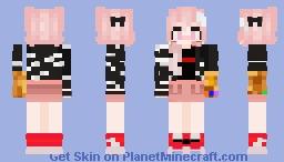 Astolfo Infinity Gauntlet Minecraft Skin
