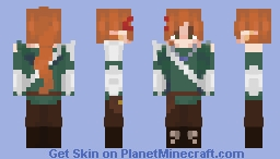 Darcy! (VIANNIAWRITES DND OC/CHARACTER) Minecraft Skin