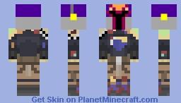 Subine Wren (star wars rebels) Minecraft Skin