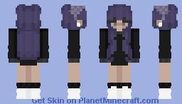 𝔭𝔲𝔯𝔭𝔩𝔢 Minecraft Skin