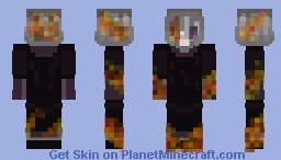 Burning Skull ! {PMC 100 Skins Contest} Minecraft Skin