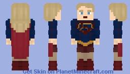 Kara Zor-El/Danvers | Supergirl - CW Minecraft Skin