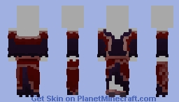 Masquerade Dress [Lord of the Craft] Minecraft Skin