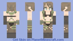 Quiet Metal Gear Solid V The phantom pain Minecraft Skin