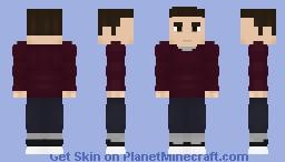 Barry Allen | Casual Suit (Season 1) - CW Minecraft Skin