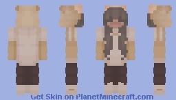 Shiba Hoodie (Matching) Minecraft Skin