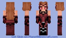 Wanda Maximoff - The Scarlet Witch [WandaVision] Minecraft Skin