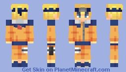 naruto uzumaki Minecraft Skin