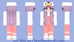 Chicken Girl Minecraft Skin