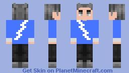 Quicksilver WandaVision Minecraft Skin