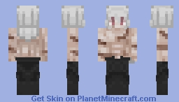 [MANGA SPOILERS] SHIRTLESS Shigaraki Tomura ALL FOR ONE Minecraft Skin