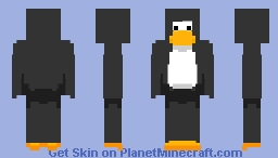 Club Penguin Minecraft Skin