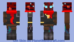 Warped Stranger Minecraft Skin
