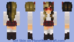 Michelle // LowlyMellow Minecraft Skin