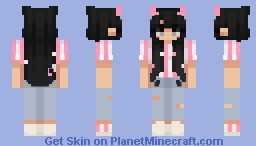 Swipe of Love Minecraft Skin