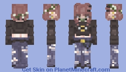 (be)e-they Minecraft Skin
