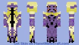 [Warframe] Wisp Minecraft Skin