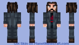 Keanu Reeves Minecraft Skin