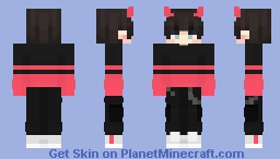 Consumed By Darkness Minecraft Skin