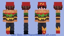 Fast Food Eboy Minecraft Skin