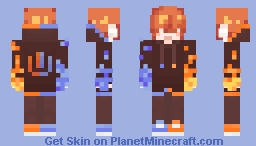 Ultra Danganronpa: Bittersweet Despair: Toshi Gamergod Minecraft Skin
