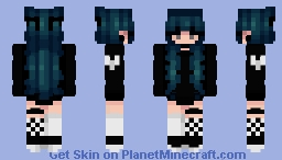 Ghostin' Minecraft Skin