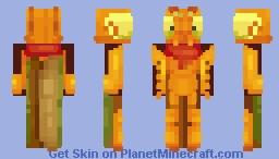 My BFF's Mantis oc (request) Minecraft Skin