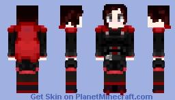 RWBY - Ruby Rose Minecraft Skin