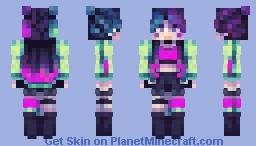 Cyber Melon Minecraft Skin