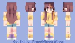 Smile - Words Bubble Up Like Soda Pop Minecraft Skin
