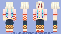 Why should I apologize for being a monster? Minecraft Skin