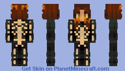 look at me/ skintober day 1 Minecraft Skin