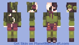 The Green Witch | Ranboo Minecraft Skin