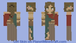 Wood Elf Lotc Minecraft Skin
