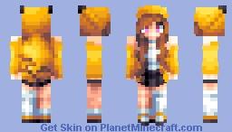 updated PikaOlivia Minecraft Skin